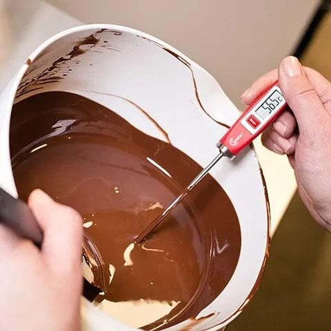 smält choklad stelnar inte