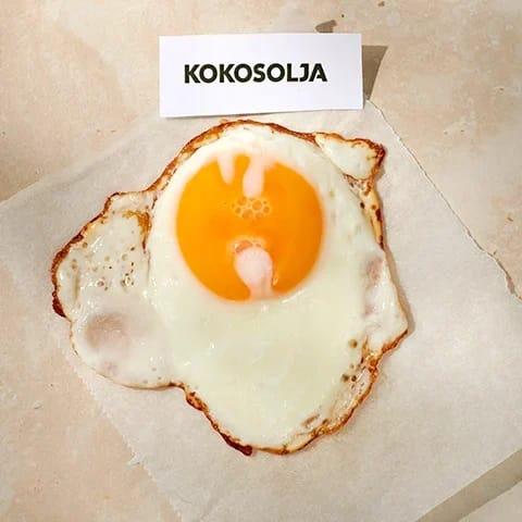 hur steker man ägg