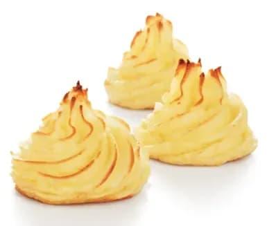 Potatismos till planka