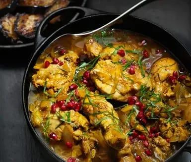 kyckling saffran recept