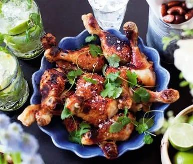 sweet chili kyckling i ugn
