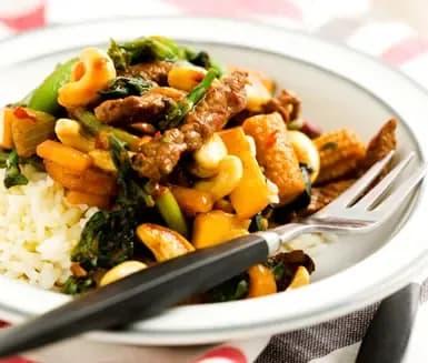 wok recept biff