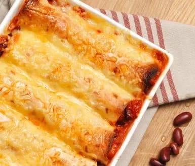 gratinerade enchiladas recept