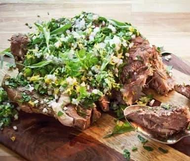 recept kött i ugn