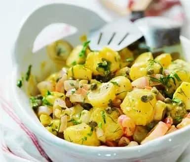 fransk potatissallad dijon