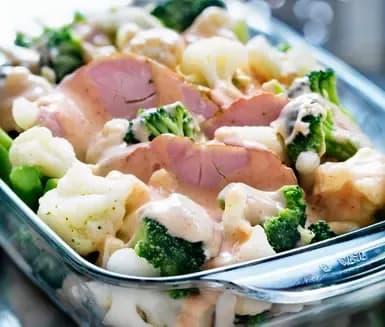 blomkål broccoli ugn