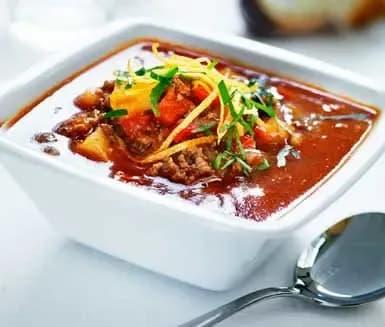 gulaschsoppa med potatis