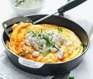 Omelett i ugnen
