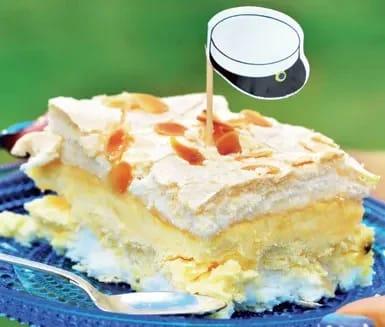 marängtårta med citronkräm