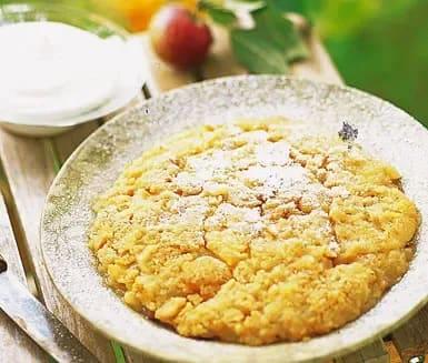 skånsk äppelkaka ströbröd