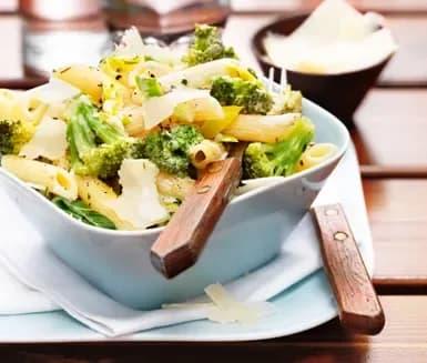 Broccoli pasta vegetarisk