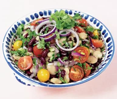 recept vita bönor sallad
