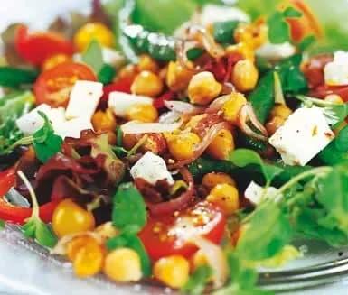 goda gröna sallader recept
