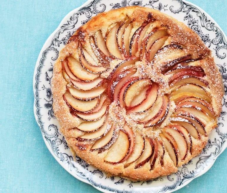 äppelkaka utan mjöl