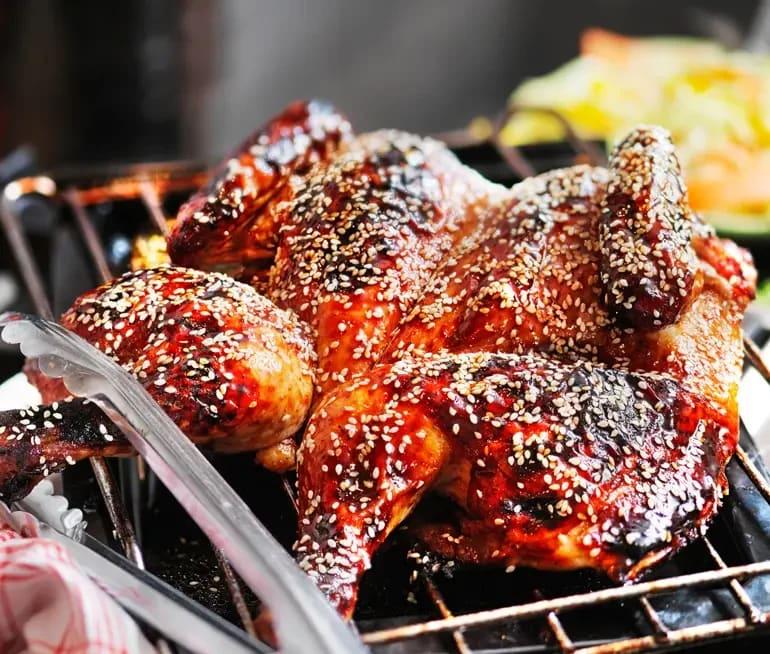 recept helstekt kyckling