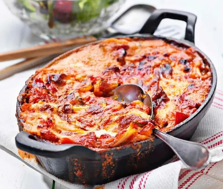 lasagne sås recept