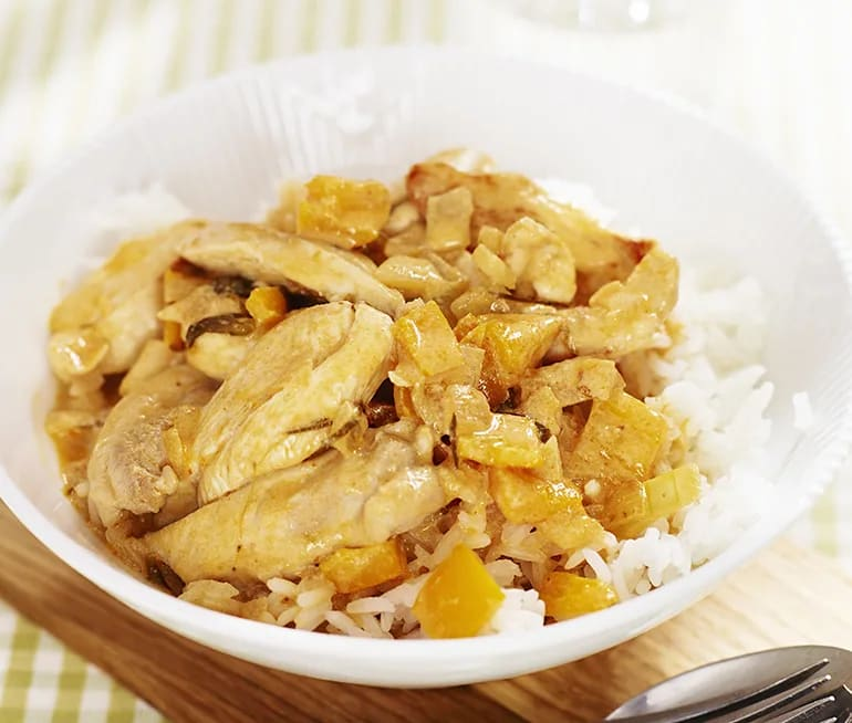 Chicken paneng curry