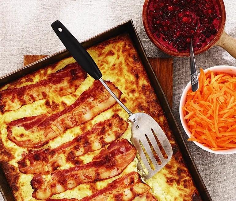 recept med bacon och potatis