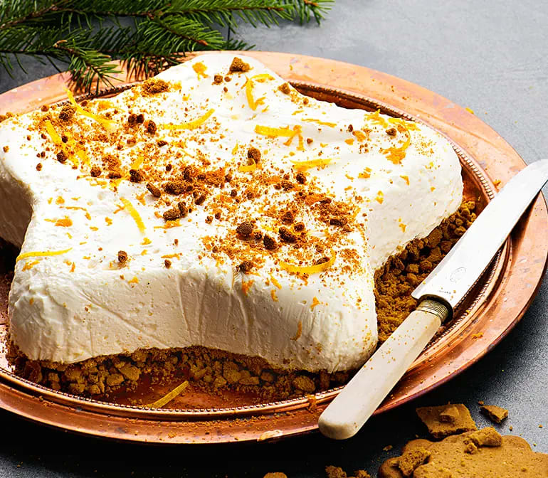 cheesecake pepparkaka apelsin