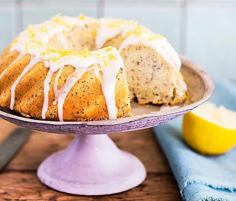 recept på citronkaka