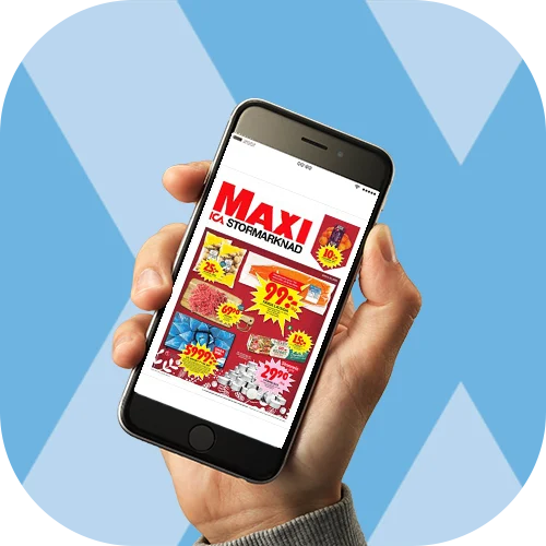 Reklambladet i mobilen