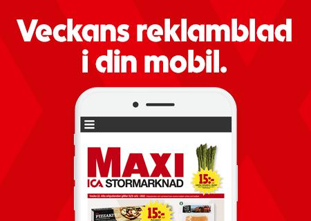 ICAs Reklamblad i mobilen