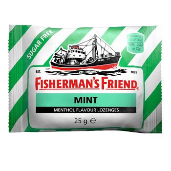 Halstabletter Mint sockerfri 25g Fisherman's Friend