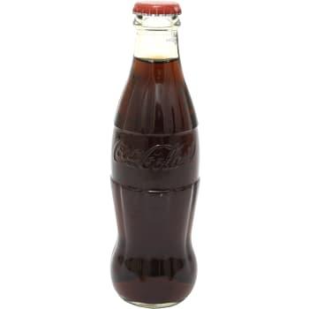 Läsk Coca-Cola Glasflaska 25cl