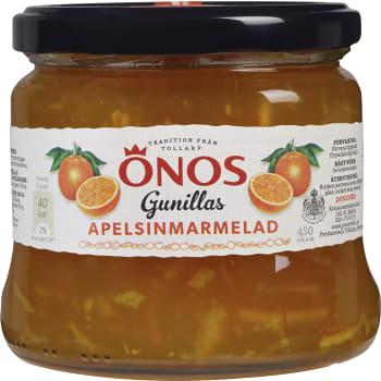 Gunillas Apelsinmarmelad 450g Önos