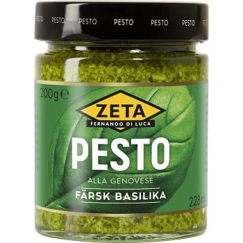 Pesto alla genovese 200g Zeta