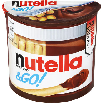Mellanmål Nutella & go 52g Ferrero