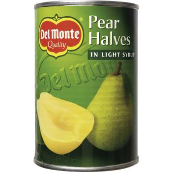 Päronhalvor i sockerlag 420g Del Monte