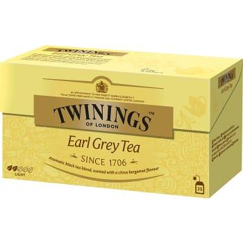 Earl grey te 25-p Twinings
