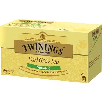 Earl grey te Ekologisk 25-p Twinings