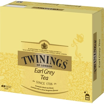 Te Earl grey 100-p Twinings