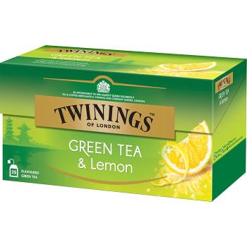 Grönt te Citron 25-p Twinings