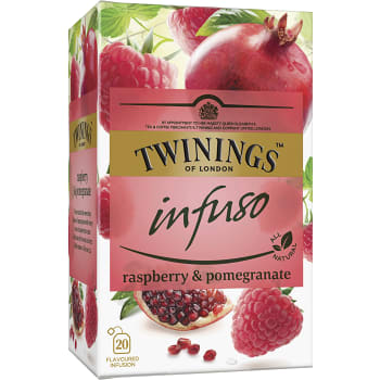 Örtte Infuso Rasperry & Pomegranate 20-p Twinings