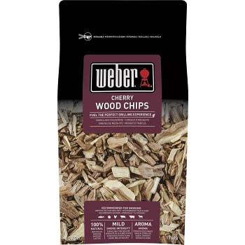 Rökspån Körsbär 0,7kg Weber
