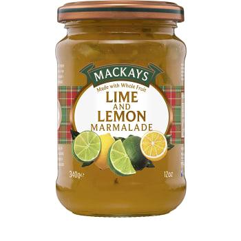 Lime & Citronmarmelad 340g Mackays