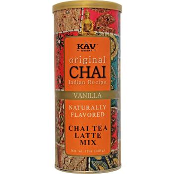 Grönt te Chai vanilla 340g KAV Orient