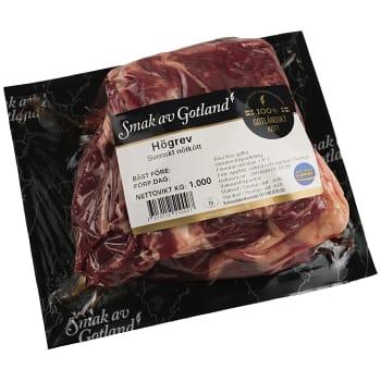 Högrev benfri ca 1kg Smak av Gotland