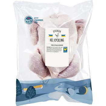 Kyckling Hel ca 1,1kg ICA Gott Liv