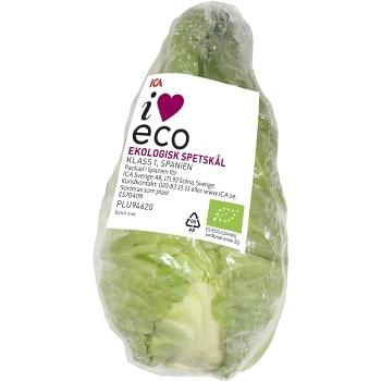 Spetskål Ekologisk ca 950g ICA I love eco