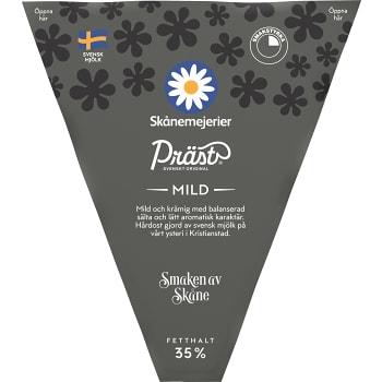Präst 35% mild ca 700g Skånemejerier