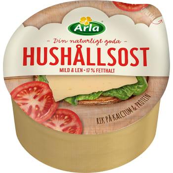 Hushållsost mild 17 % ca 1,1kg Arla
