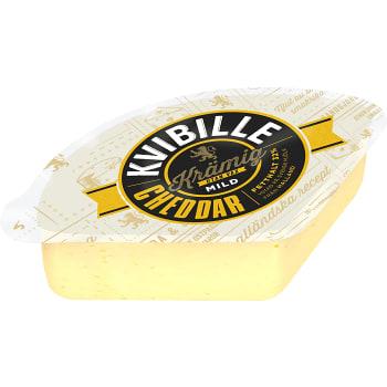 Cheddar krämig mild ca 750g Kvibille
