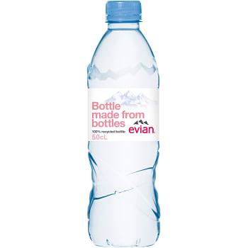 Vatten Stilla 50cl Evian