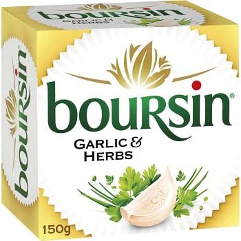 Färskost Garlic & herbs 150g Boursin