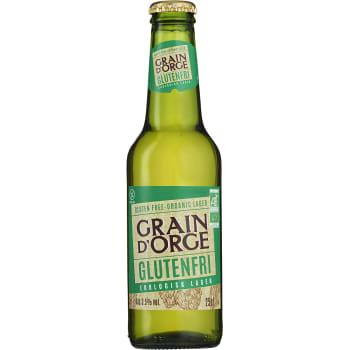 Öl Glutenfri Ekologisk 3,5% 25cl Grain d'Orge