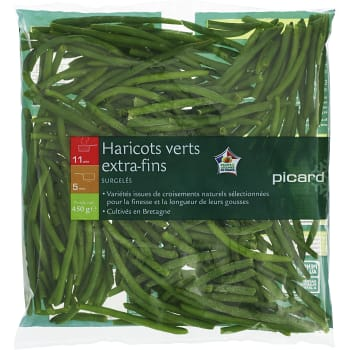 Haricot Verts Extra fina 450g Picard